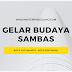 Gelar Budaya Sambas Akan Berlangsung Serentak di Yogyakarta dan Pontianak