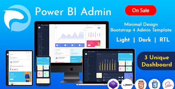 Responsive Bootstrap Admin Templates with UI Framework