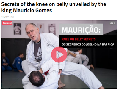 BJJ / Grappling Tips: More from the Knee On Belly Position