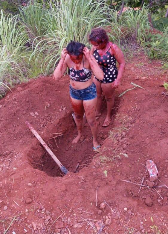 BARBÁRIE - Jovens são executadas e enterradas na mesma cova em Timon; imagens fortes