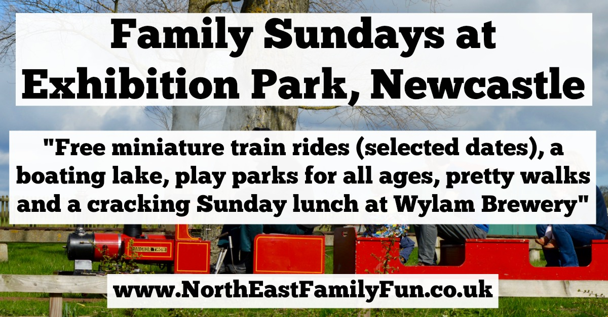 A family day out at Exhibition Park Newcastle | Miniature Railway, Wylam Brewery and Play Park
