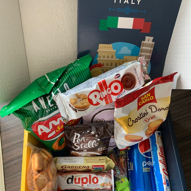 Snack Surprise Italy Box