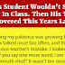 This Student Wouldn't Stop Talking In Class. Then His Teacher Discovered This Years Later.