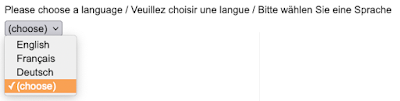 New multi-language surveys