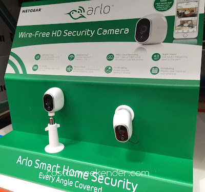 Help protect family with the Netgear Arlo Wire-Free Security System