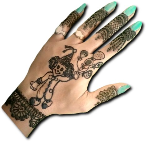 Children Special Joker Mehndi