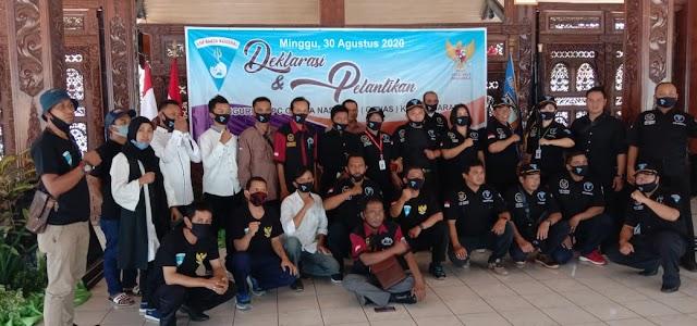 Pelantikan Pengurus DPC LSM Garda Nasional (GANAS) di Pendopo Dinas Bupati Semarang