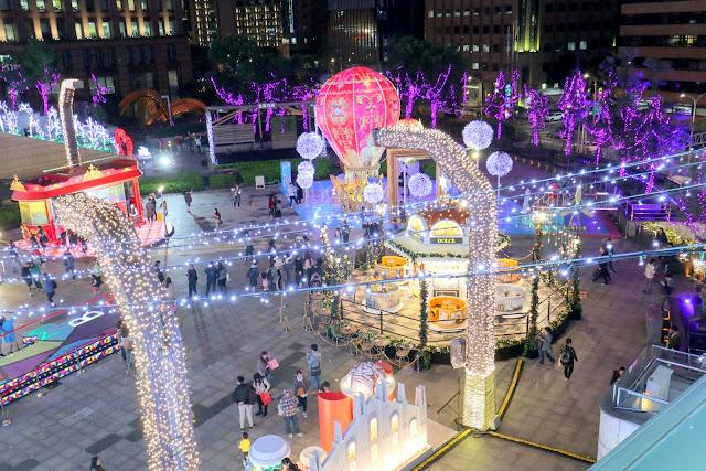 2018台北耶誕城 統一時代百貨台北店
