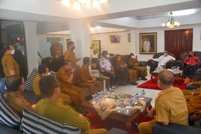 Walikota Tebing Tinggi Terima Kunjungan Kerja Plt Walikota Tanjung Balai