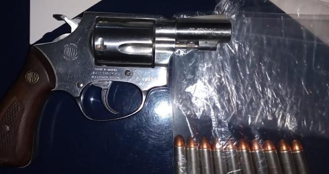 En Puruándiro, detiene SSP a uno en posesión de arma de fuego