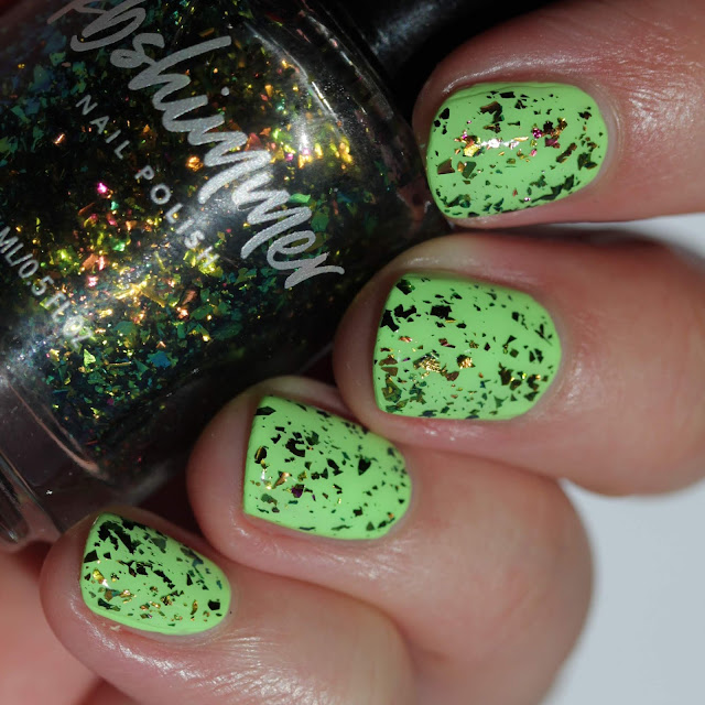 KBShimmer Party Like A Guac Star swatch by Streets Ahead Style