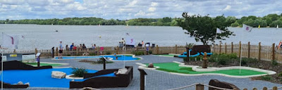 Alton Water Mini Golf course. Photo by James Palmer, UrbanCrazy, August 2020