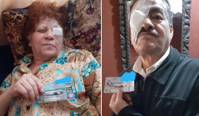 """Abuelitos compran """"cachitos"""" tras recibir operación en el IMSS """"quieren devolver un poco"""""""