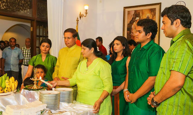 Sinhala and Tamil New Year Celebration President