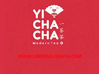 Lowongan Kerja Solo Bulan Agustus 2021 di Yi Cha Cha Indonesia