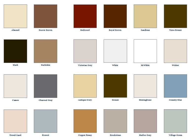Mastic Metal Colors Related Keywords Mastic Metal Colors