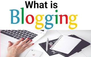 what is blogging, blog vs website