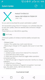 android 7.0 for infinix note 3
