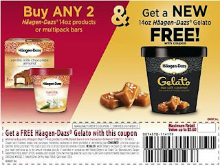 photograph regarding Haagen Dazs Printable Coupon identified as Rexburg Coupon Matchups: Cute Snacks upon Sale at Albertsons