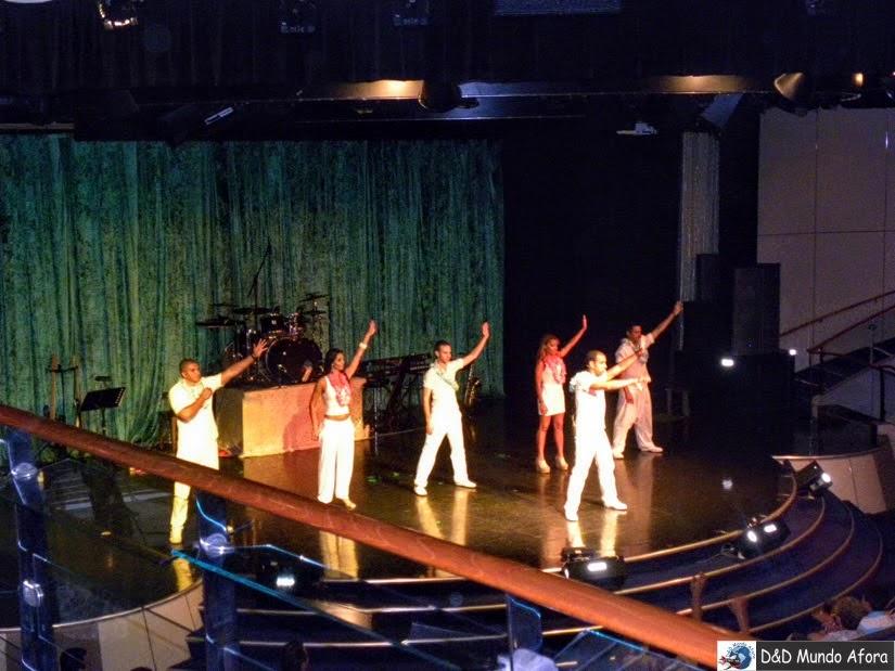 Apresentação no teatro - Cruzeiros marítimos: tudo sobre viagem de navio