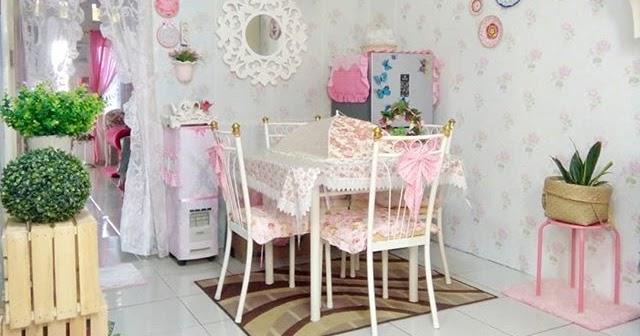 Desain Shabby Chic Ruang Makan