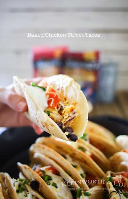 baked chicken street taco recipe