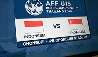 Cara Nonton Piala AFF U15 dan U18 2019 Gratis di Parabola