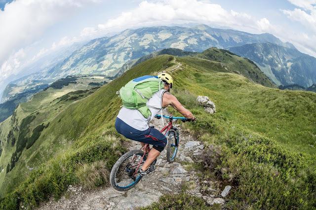 technischer Trail Kitzbüheler Alpen