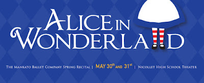Mankato Ballet Company Alice in Wonderland
