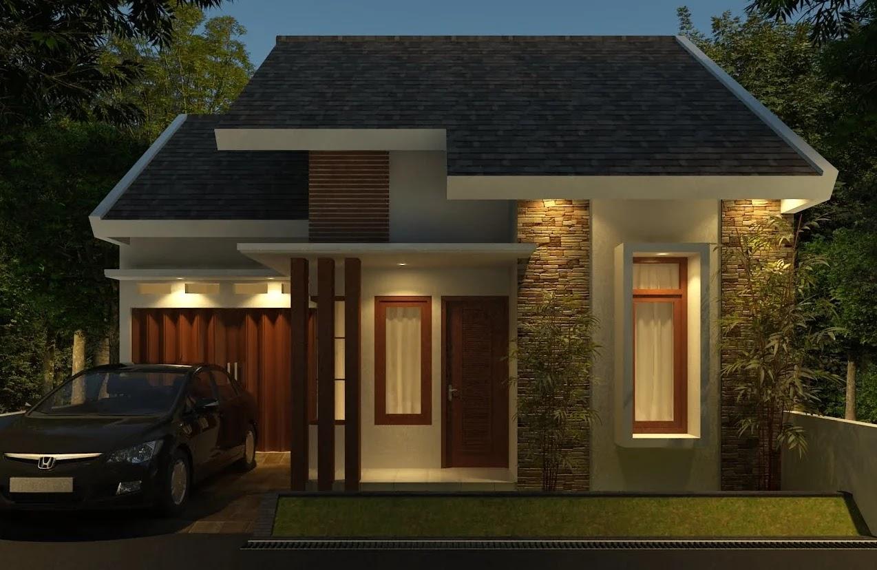 Model Garasi Mobil Depan Rumah Minimalis Rancangan Desain Rumah Minimalis