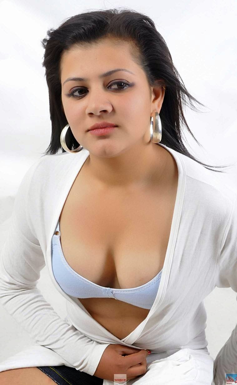 Nepali Model Kasturi Kharel Glamour Deep Cleavage Photos -8252