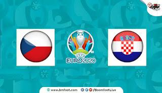 بث مباشر مباراة كرواتيا والتشيك مباشرة في كأس أمم أوروبا