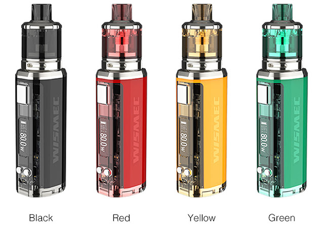 Wismec SINUOUS V80 Kit - A Great Choice!