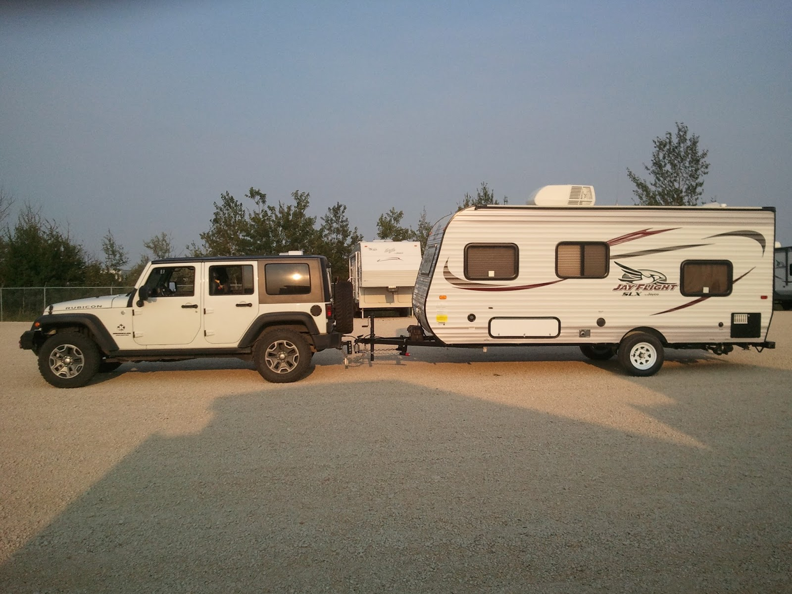 Jeep Wrangler Unlimited Towing Travel Trailer