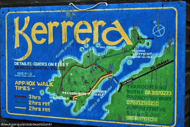 Rutas de senderismo en la isla de Kerrera