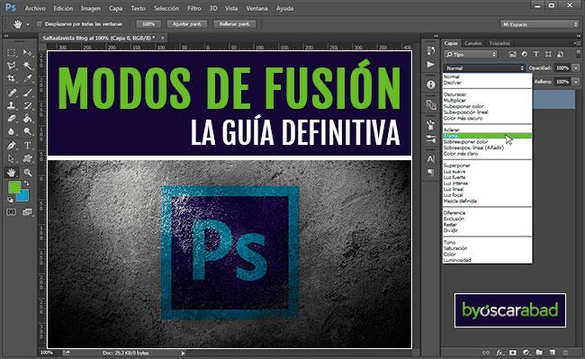 Modos de Fusión en Photoshop La Guía Definitiva by Óscar Abad