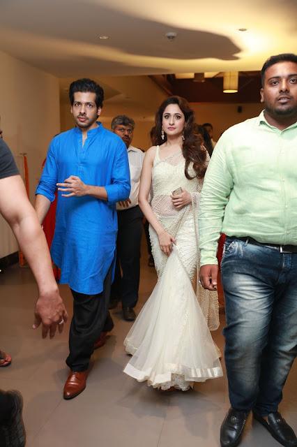 Pragya Jaiswal at Director Krish Wedding Photos