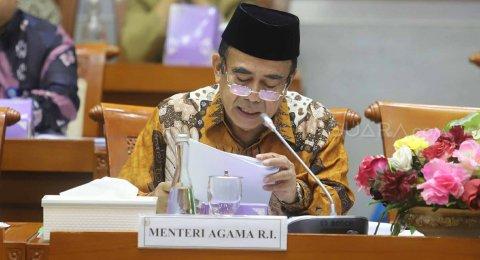 Menteri Agama: Cadar Tidak Boleh Berkembang dengan Alasan Ketakwaan