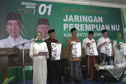 Jaringan Perempuan NU Kendal Komitmen Menangkan Jokowi-Ma'ruf