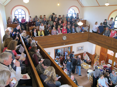 Meeting in Caersalem Chapel