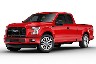 Ford F-150 STX SuperCab (2017) Front Side
