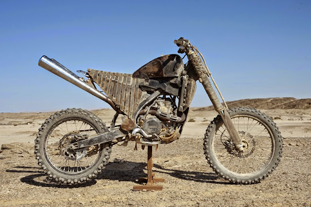Motorcycle from Mad Max 6