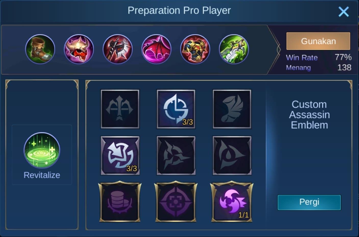 build item balmond mobile legends (ML)