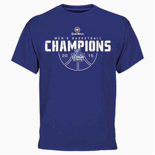 Georgia State Panthers Sun Belt Champions T-Shirt, Georgia State conference champions t-shirt