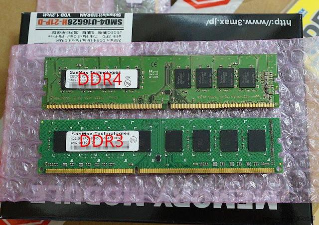 Perbedaan RAM DDR3 Dan DDR4