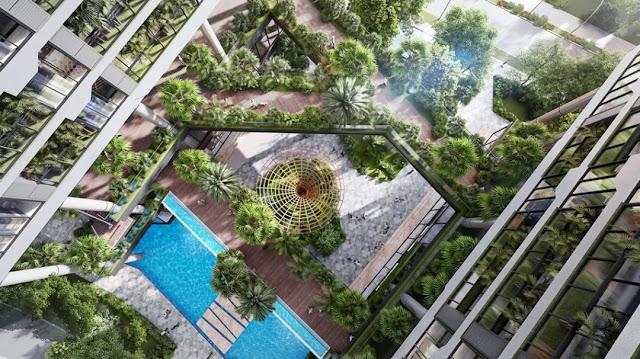 Biệt thự công nghệ dự án Sunshine Green Iconic Long Biên Hà Nội