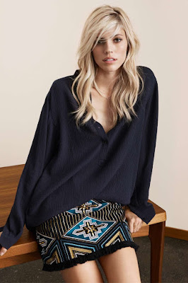 H&M channels 70s for Spring 2016 Lookbook