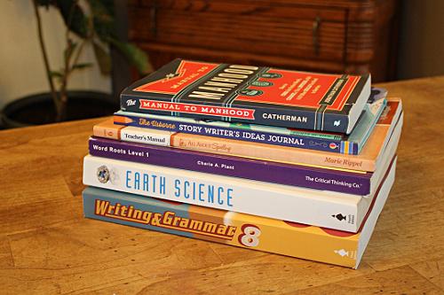 8th-grade curriculum choices for my homeschool