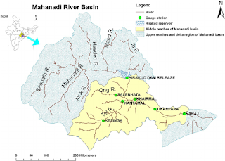 map-rivers-india