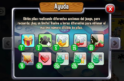 imagen de las acciones para tener monedas laberinto en la isla video juegos de dragon city